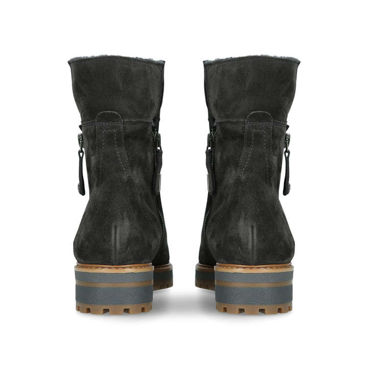 e46a68f1d Shearling Ankle Boot Grey Ankle Boots By Paul Green | Kurt Geiger