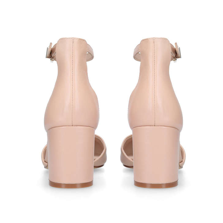 058d15a2f41 Keclya Pink Block Heeled Court Shoes By Aldo