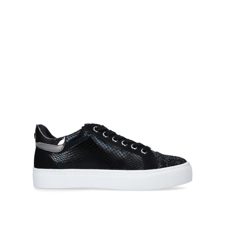 076bb4bdbe58 Judd Black Embellished Low Top Trainers By Carvela