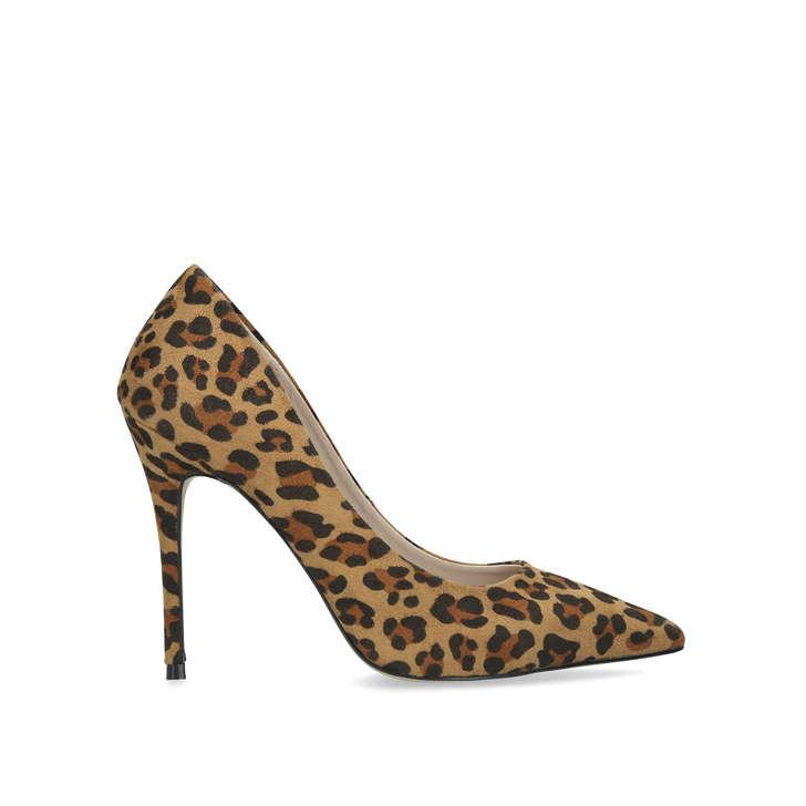 Krisp Leopard Print Suedette Court