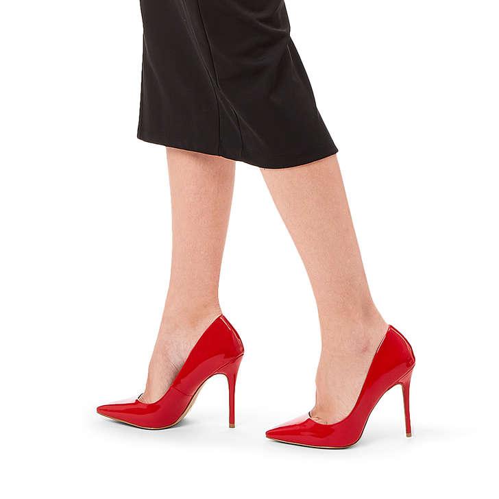 da21c06617 Krisp Red Patent Stiletto Heel Court Shoes By Carvela   Kurt Geiger