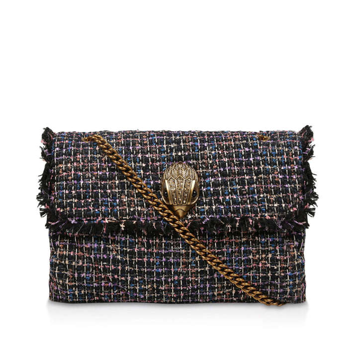 Tweed Xxl Kensington Bag by Kurt Geiger London