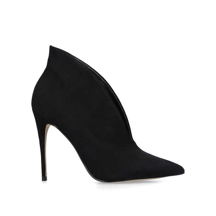 fc31b3eaab7 Melidith Black Suede Stiletto Heel Boots By Aldo
