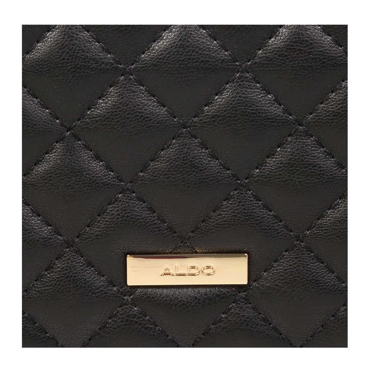 c752a79c8a8 Ethirerien Black Studded Purse By Aldo