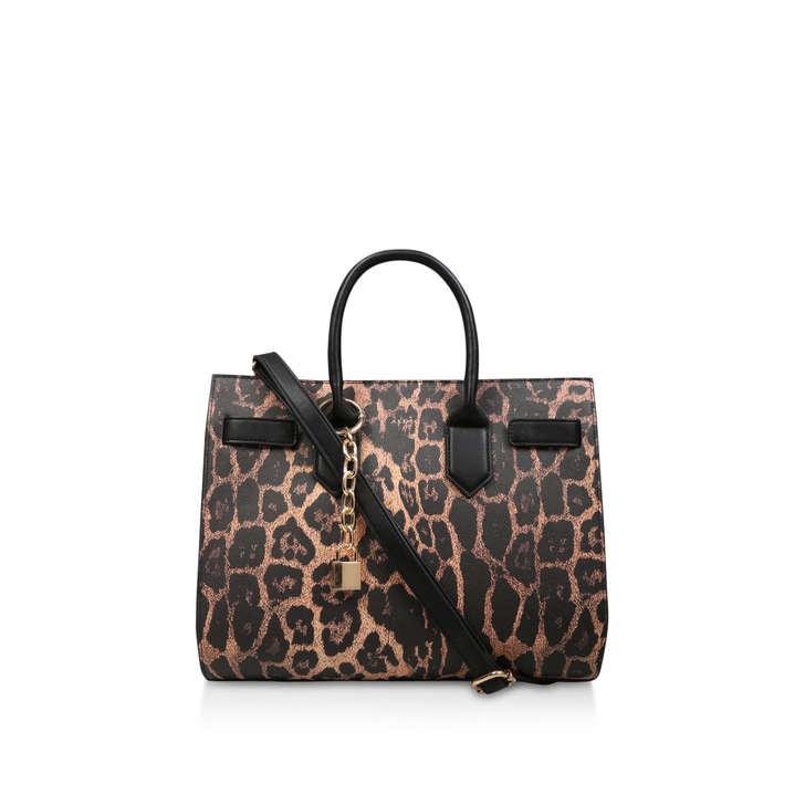 c601366c888 Saketini Leopard Print Tote Bag By Aldo