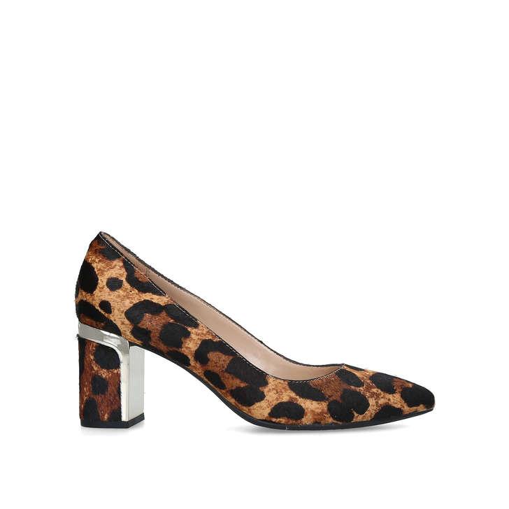 e578c9c0c6fe Elie Leopard Print Mid Heel Court Shoes By DKNY