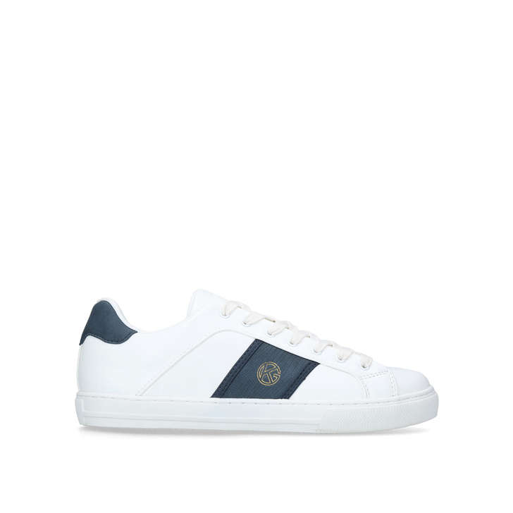 SUDBURY White Low Top Trainers by KG