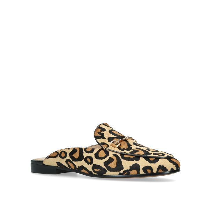 aed6fe096ffa9e Linnie Leopard Print Backless Loafers By Sam Edelman