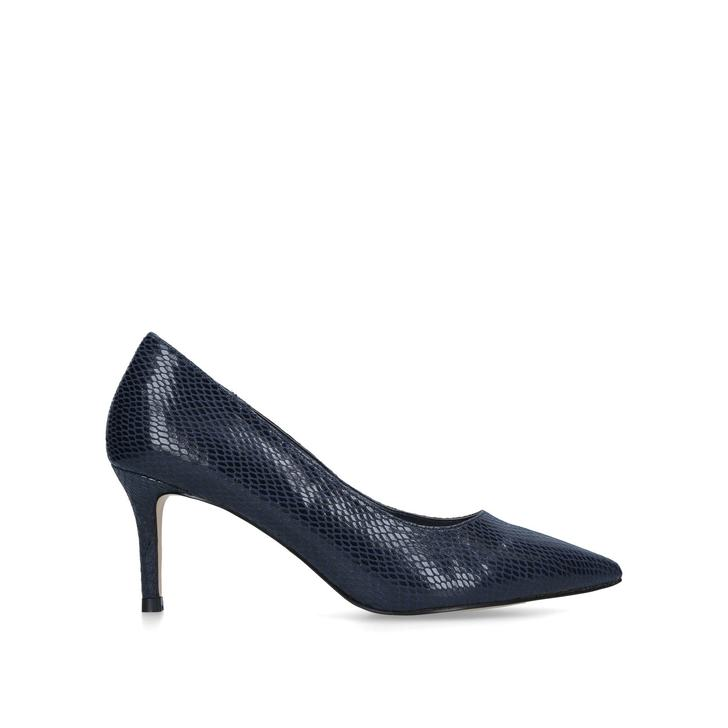 e85778ca039 Kareful Navy Kitten Heels By Carvela