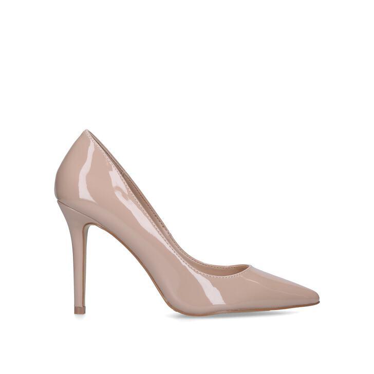 50f201cb23e5 Kareless Nude Patent Court Shoes By Carvela
