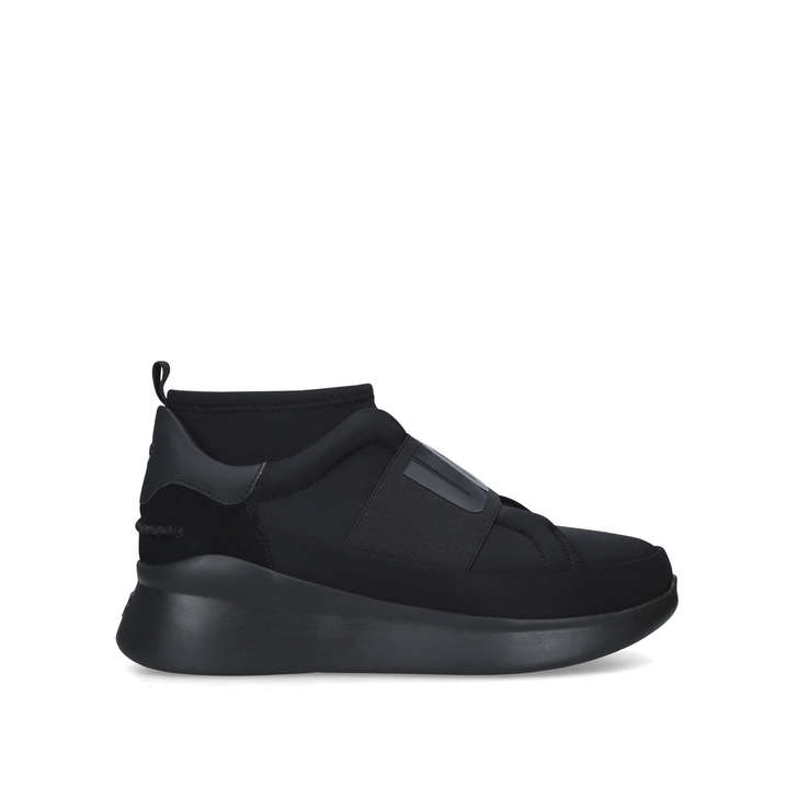 e1d5e723d8e Neutra Sneaker Black Branded Trainers With Chunky Sole By UGG | Kurt ...