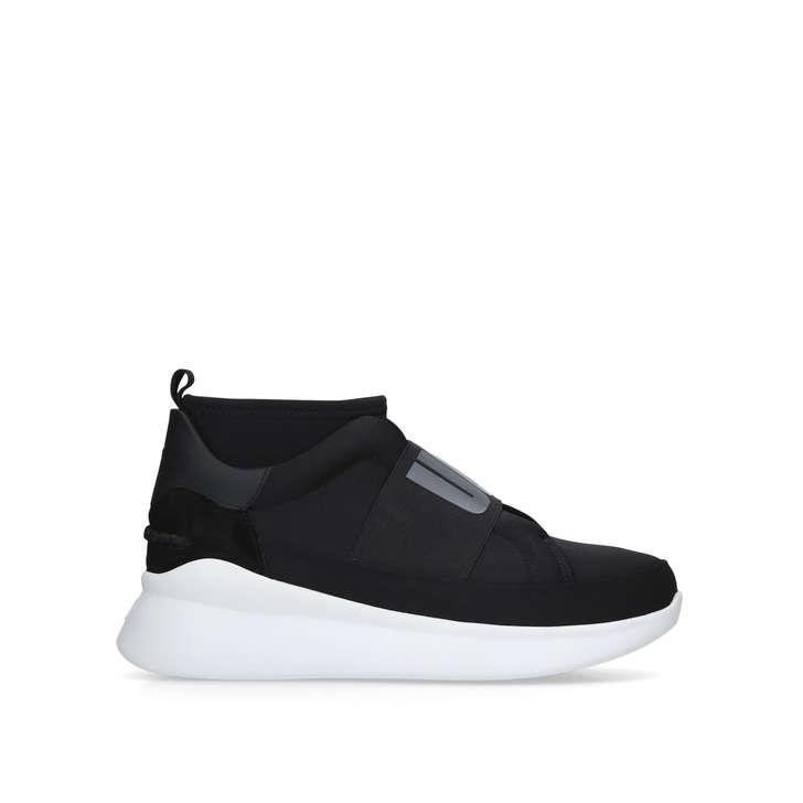 147abac2e7c Neutra Sneaker Black Low Top Sock Trainers By UGG | Kurt Geiger