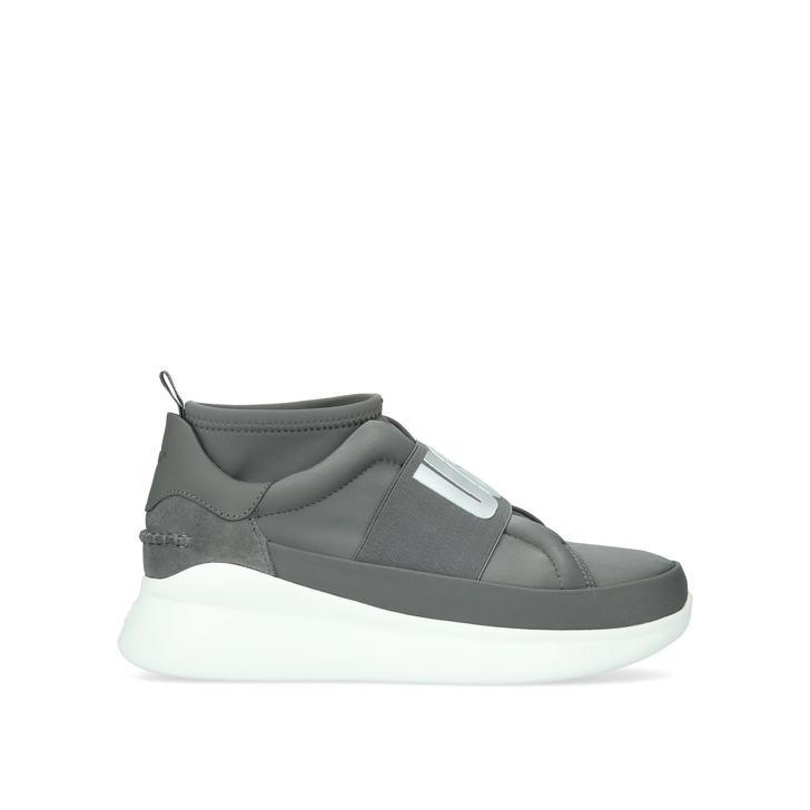 eab116e3b39 Neutra Sneaker Grey Low Top Sock Trainers By UGG | Kurt Geiger