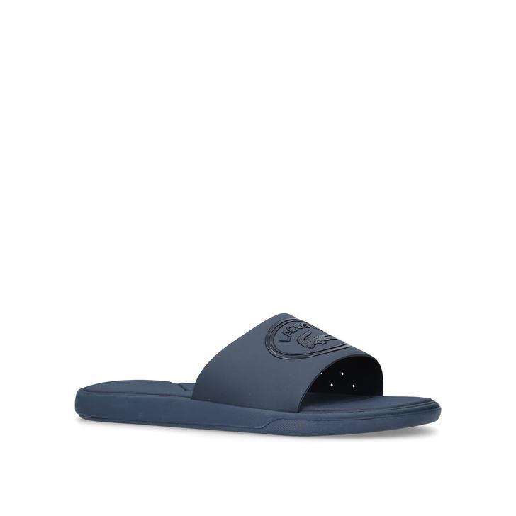 2035ef48b84f62 L 30 Slide Navy Sliders By Lacoste
