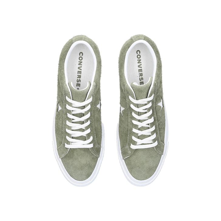 9f3c2acdcdd One Star - Ox Khaki Suede Low Top Trainers By Converse