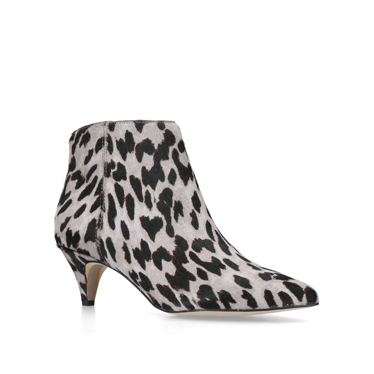 5c3d4750dc577b Kinzey Boot Animal Print Kitten Heel Ankle Boots By Sam Edelman ...