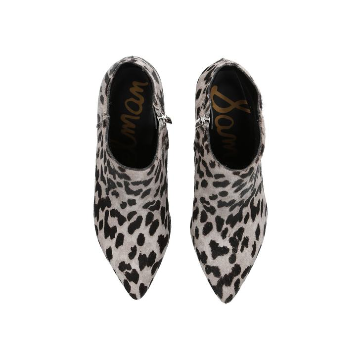 a4c77a6d481e Kinzey Boot Animal Print Kitten Heel Ankle Boots By Sam Edelman ...
