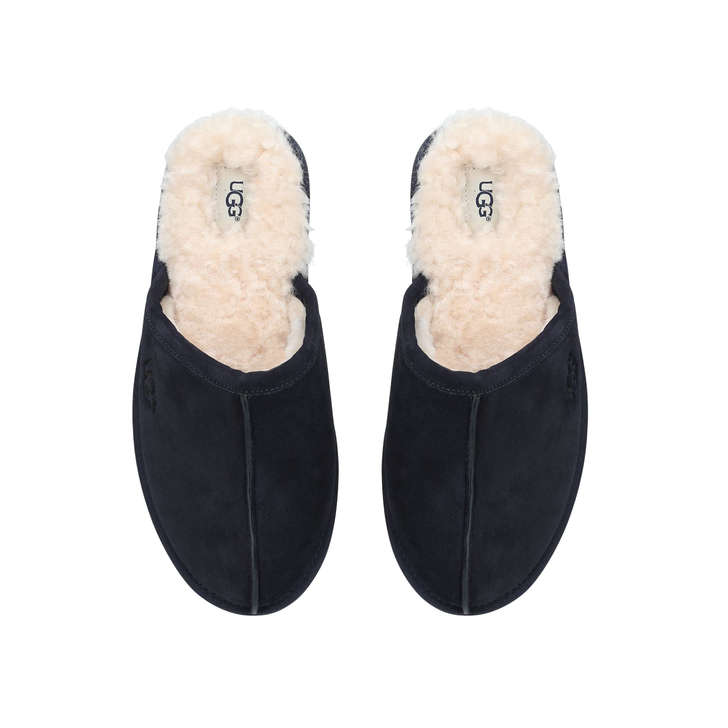 11c9461d46d Men S Scuff Navy Suede Slippers By UGG