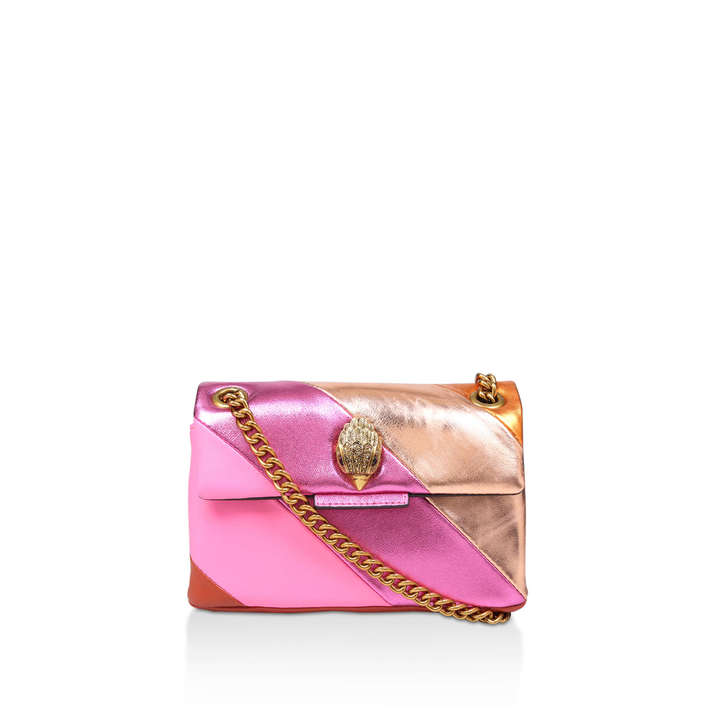 Mini Kensington S Bag Pink Rainbow Leather Mini Shoulder