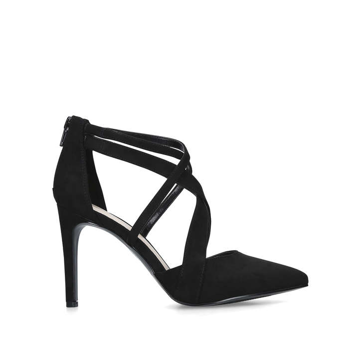 check out many styles new release ZOREVER Black Suedette High Heel Shoes by NINE WEST | Kurt ...