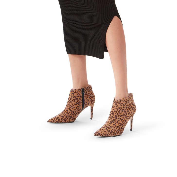 d85a50f27855 Jiles Leopard Print Mid Heel Ankle Boots By Miss KG | Kurt Geiger