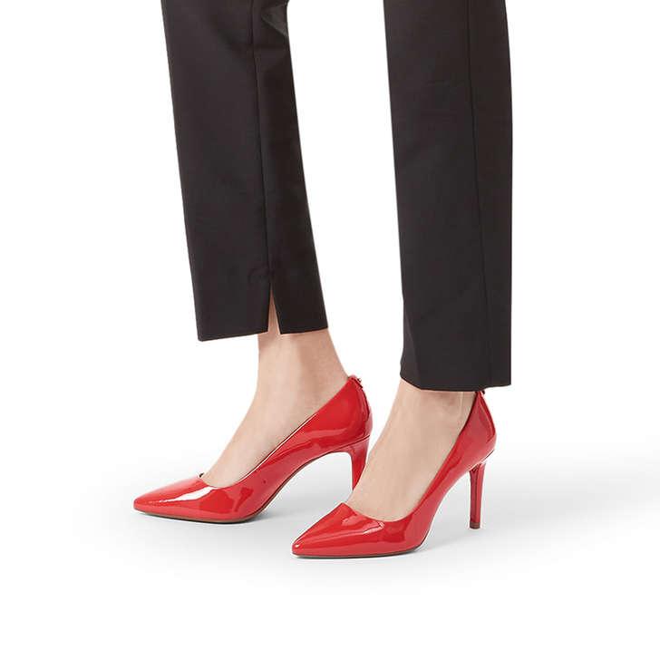 b53d88e4fb99 Dorothy Flex Pump Red Patent Mid Heel Court Shoes By Michael Michael Kors