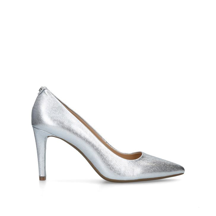 049b67b62c6cb Dorothy Flex Pump Silver Leather Court Shoes By Michael Michael Kors ...