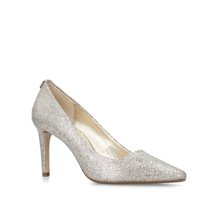 0cc9b796da7bc Dorothy Flex Pump Metallic Silver Court Shoes By Michael Michael Kors