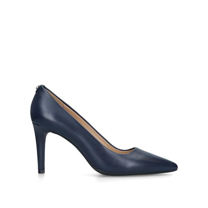 9e2e954e3b07 Dorothy Flex Pump Navy Leather Court Shoes By Michael Michael Kors ...