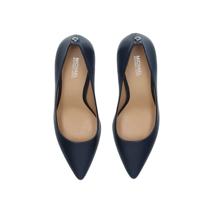 72d088ed77b1 Dorothy Flex Pump Navy Leather Court Shoes By Michael Michael Kors ...