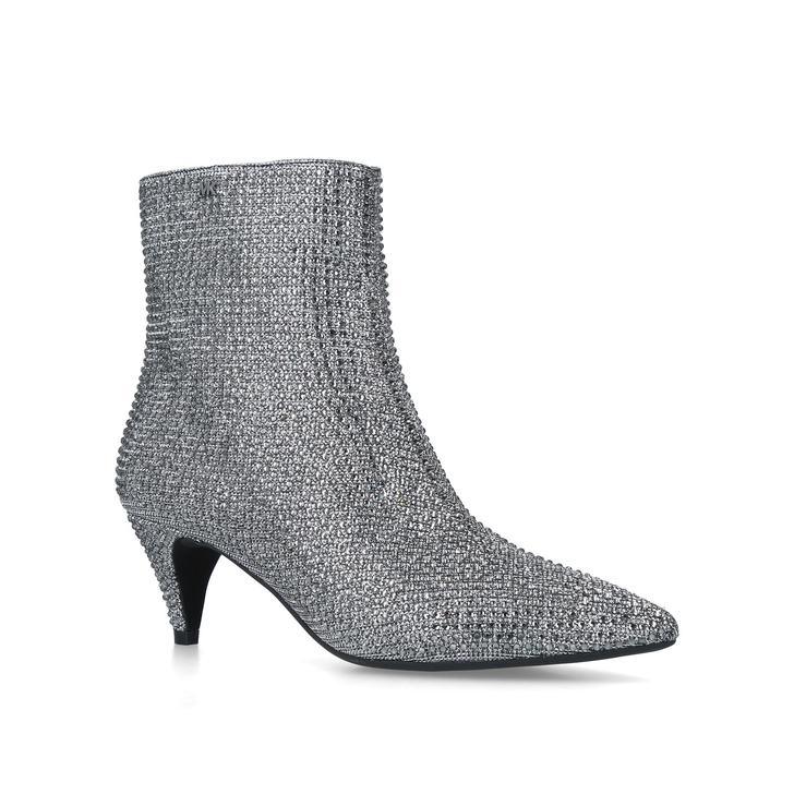 ce7310a7667e Blaine Flex Kitten Bootie Black Embellished Kitten Heel Ankle Boots By Michael  Michael Kors | Kurt Geiger