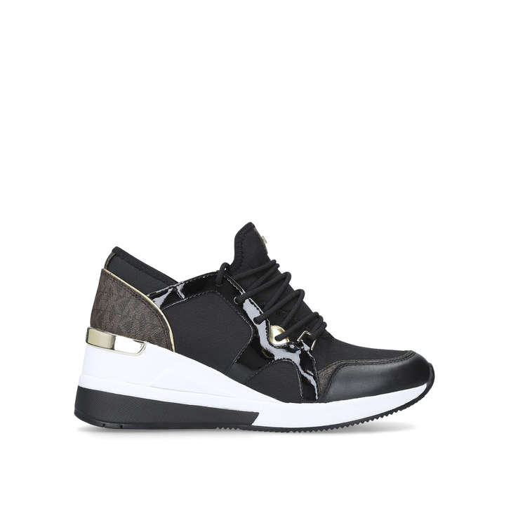 360c554ee793 Liv Trainer Black Low Top Trainers By Michael Michael Kors