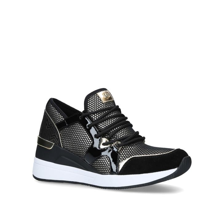 e9ff9415197 Liv Trainer Black Low Top Trainers By Michael Michael Kors | Kurt Geiger