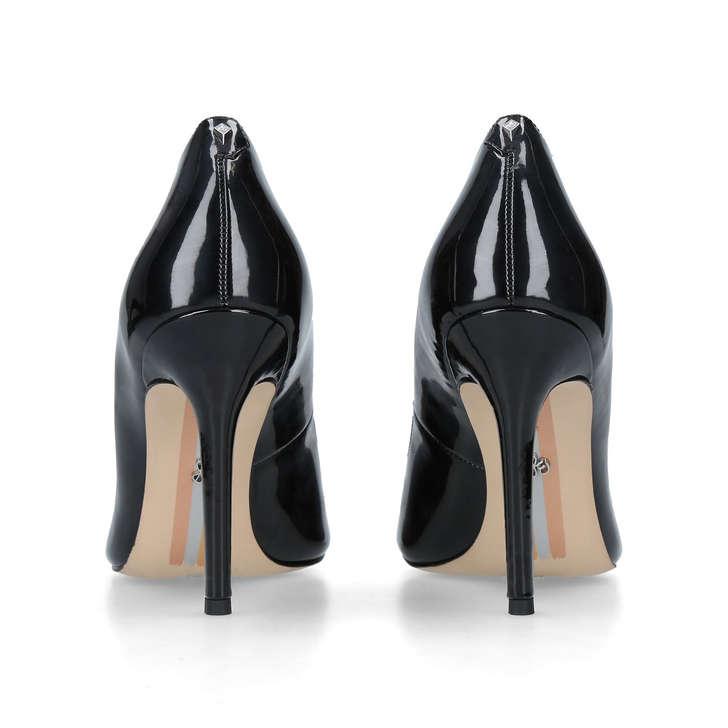 8c2352e2842984 Hazel Pump 90 Black Patent Stiletto Court Shoes By Sam Edelman ...