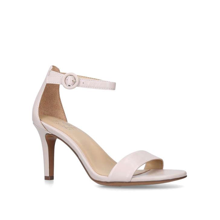 cdb6b0de7ea Kinsley Cream Mid Heel Strappy Sandals By Naturalizer