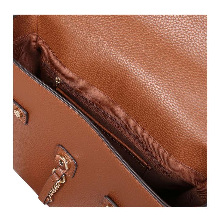 fb3a13bde5a Gandino Tan Shoulder Bag With Scarf By Aldo