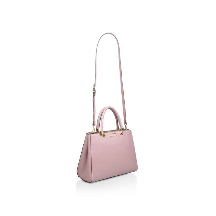 050d2c0ddccc Dory Structured Tote Pink Tote Bag By Carvela