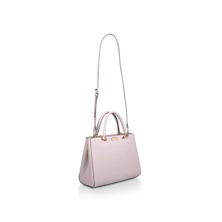 cfb800aeaf01 Dory Structured Tote Lilac Tote Bag By Carvela