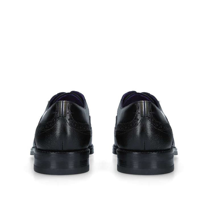 a122837e85a5 Almhano Wc Ox Black Leather Oxford Shoes By Ted Baker