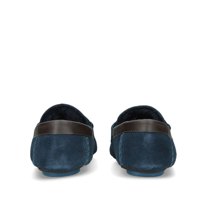 b9aa532c4 Valcent Slipper Blue Moccasin Slipper By Ted Baker