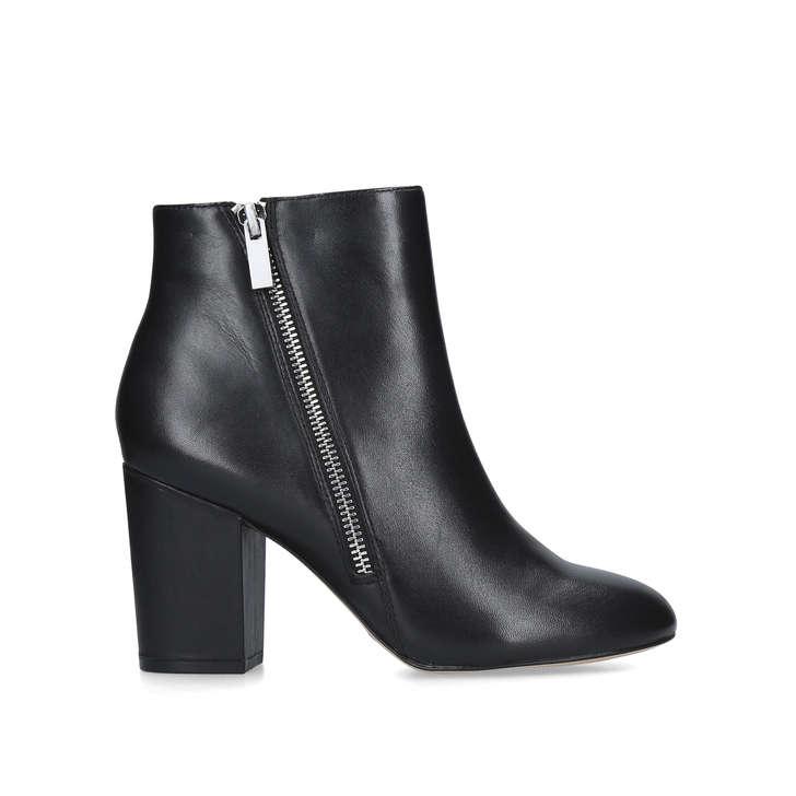 3dfde5901ba Graobeth Black Block Heel Ankle Boots By Aldo