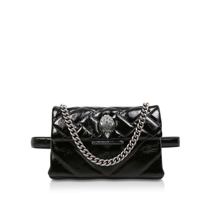 3893fbd72bd2 Patent Kensington Belt Bg Black Patent Belt Bag By Kurt Geiger London