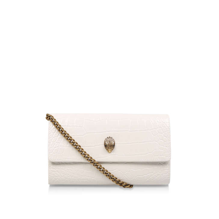 08bc92db42aa Kensington Chain Wallet Bone Leather Evening Bag By Kurt Geiger London