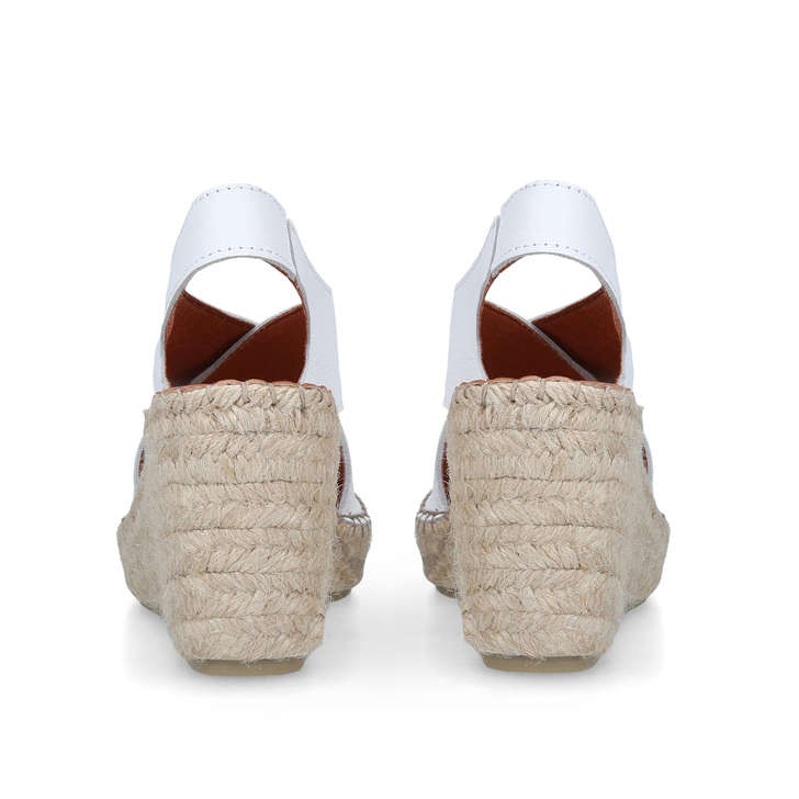 7a9a5c23e2c Shakira White Espadrille Wedge Sandals By Carvela Comfort | Kurt Geiger