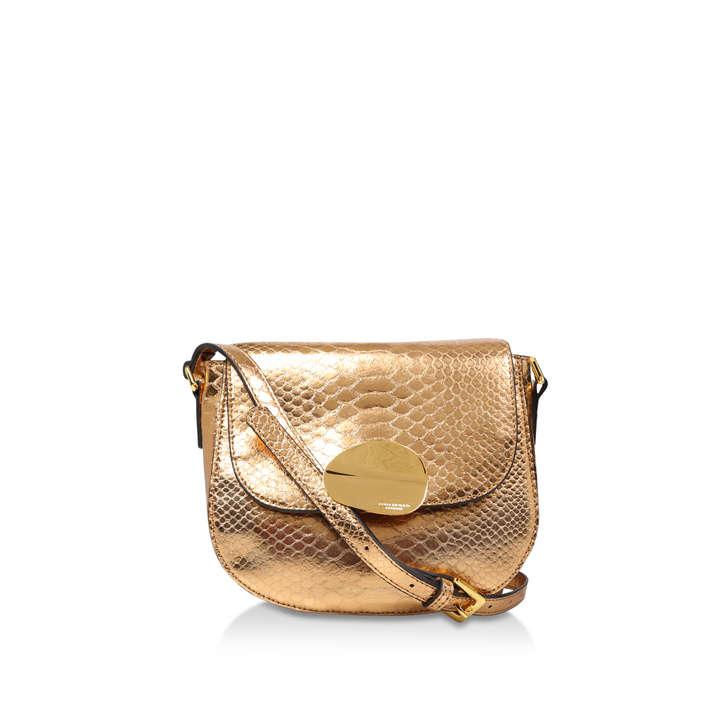 Petal Sm Saddle Bag by Kurt Geiger London