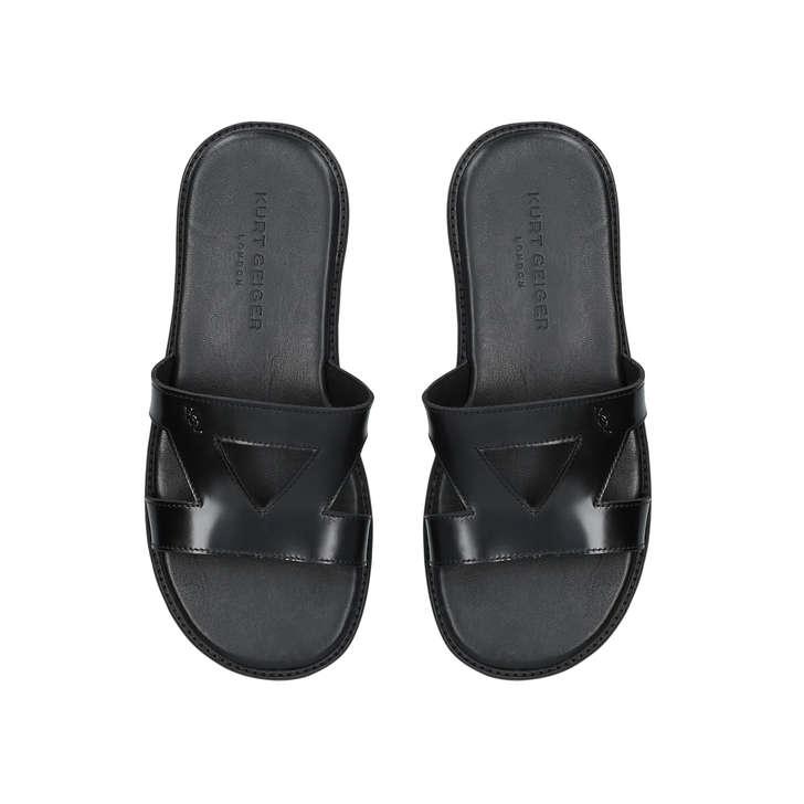 bd0730a3438 Jonny Men s Black Sliders By Kurt Geiger London