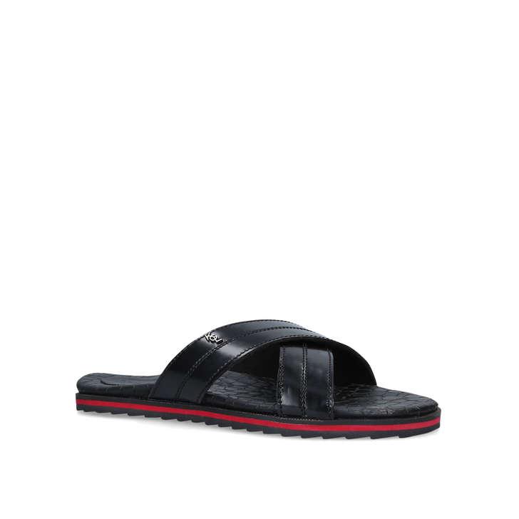 a23a0176ed1 Ricky Men s Black Sliders By Kurt Geiger London