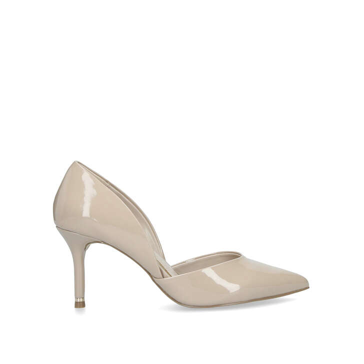 65b5e6484552 Lady Nude Patent Stiletto Heel Court Shoes By Carvela