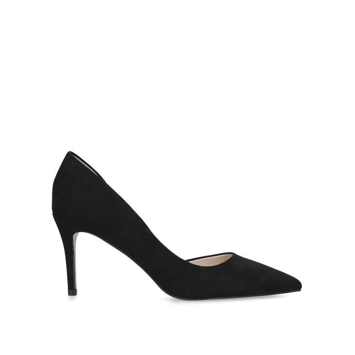Celia Wf Wide Fit Black Stiletto Heel