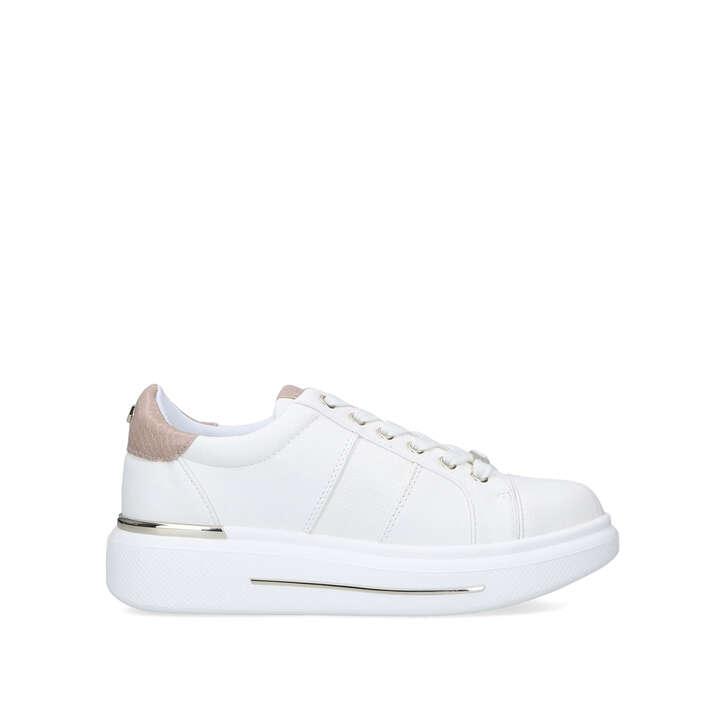 kurt geiger white trainers
